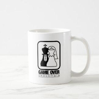 Game Over Check Mate Mugs