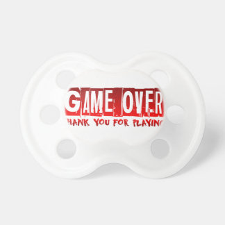Game over dummy