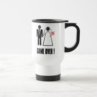 Game Over! Engagement Wedding Honeymoon Travel Mug