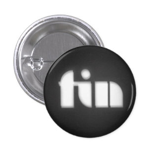 game over FIN 3 Cm Round Badge
