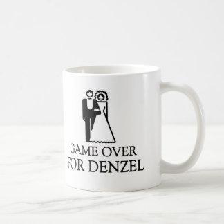 Game Over For Denzel Basic White Mug