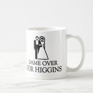 Game Over For Higgins Basic White Mug