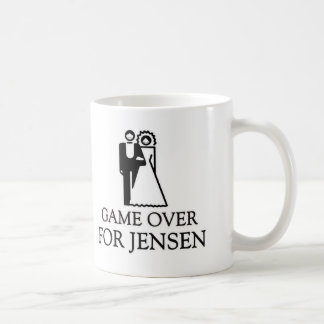 Game Over For Jensen Coffee Mugs