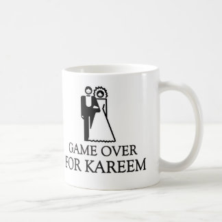 Game Over For Kareem Basic White Mug