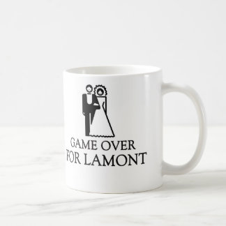 Game Over For Lamont Coffee Mugs