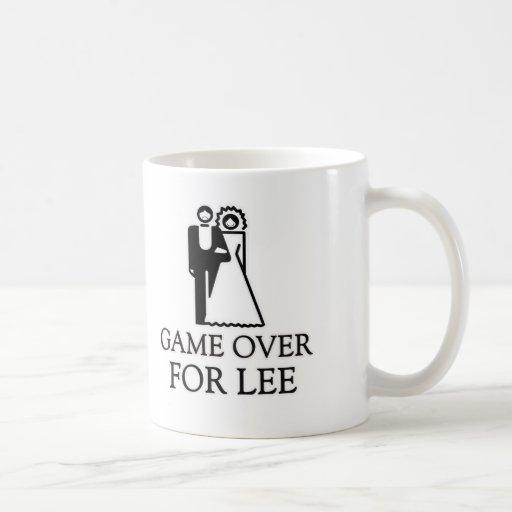 Game Over For Lee Coffee Mug
