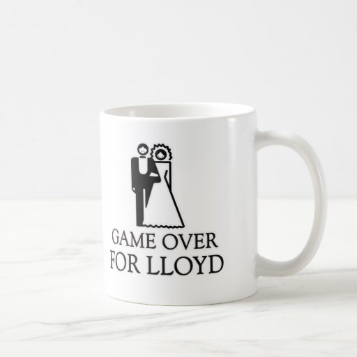 Game Over For Lloyd Coffee Mugs