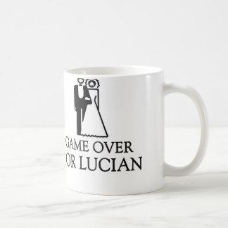 Game Over For Lucian Basic White Mug