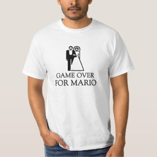 Game Over For Mario T-Shirt