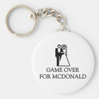 Game Over For Mcdonald Keychain