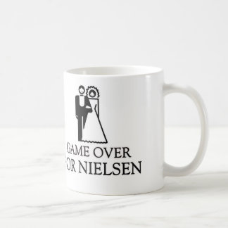 Game Over For Nielsen Basic White Mug