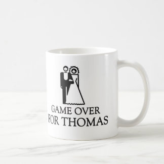 Game Over For Thomas Basic White Mug