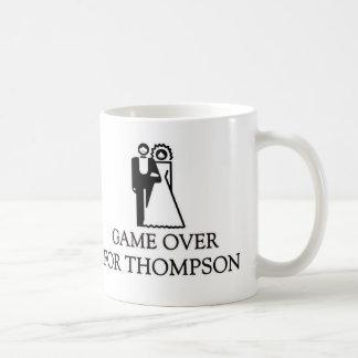 Game Over For Thompson Basic White Mug