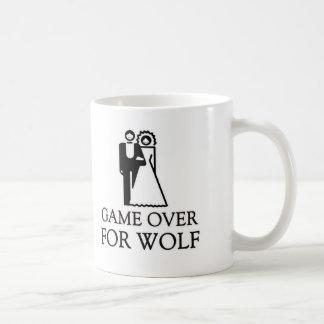 Game Over For Wolf Coffee Mug
