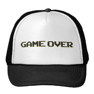 Game Over Mesh Hat