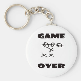 GAME OVER KEY RING