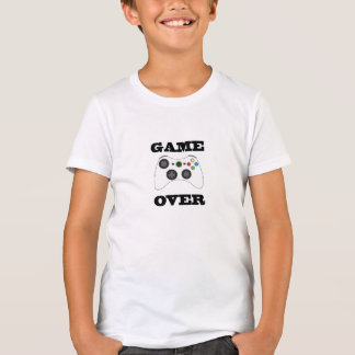 Game Over Kids Shirt