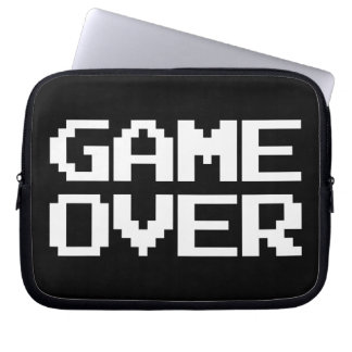Game Over Laptop Computer Sleeves