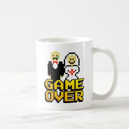 Game over marriage (8-bit) mug