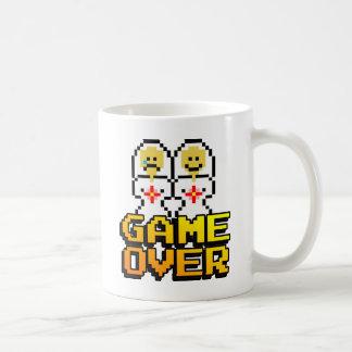 Game Over Marriage (Lesbian, 8-bit) Coffee Mug