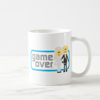 Game Over Marriage (Miis) Basic White Mug