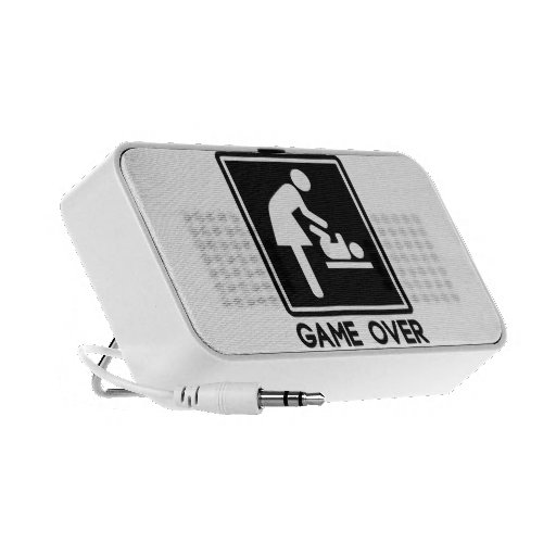 Game Over New Baby for Parent Mom Speaker System