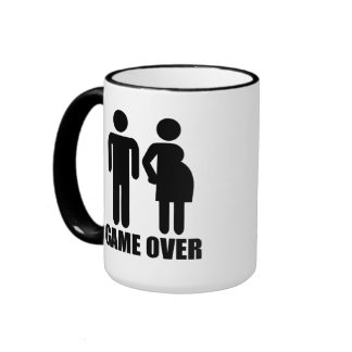 Game over Pregnancy Mugs