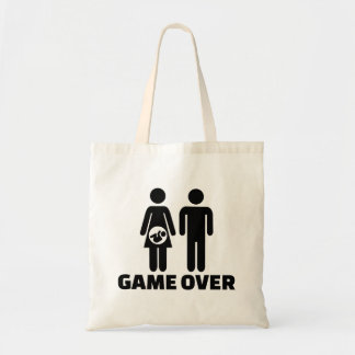 Game over pregnant baby bags