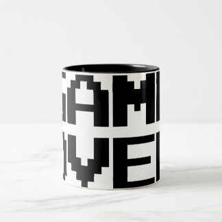Game Over Two-Tone Coffee Mug