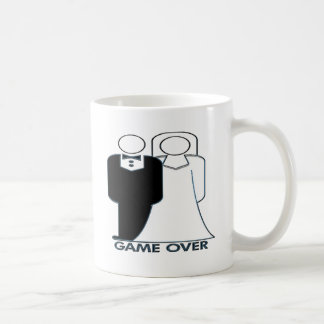 Game Over Wedding Marriage Couple Coffee Mug