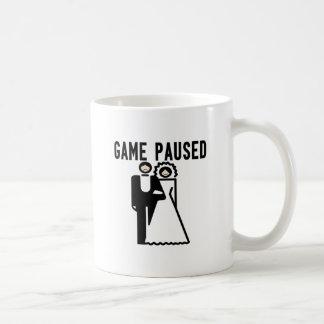 Game Paused Coffee Mug