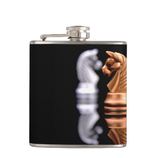 Game Play Chess Hip Flask