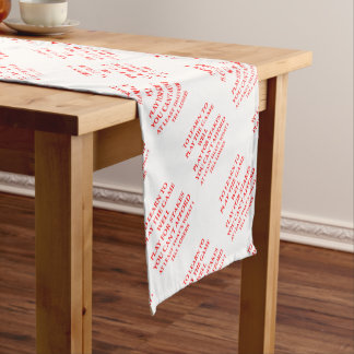 game player short table runner