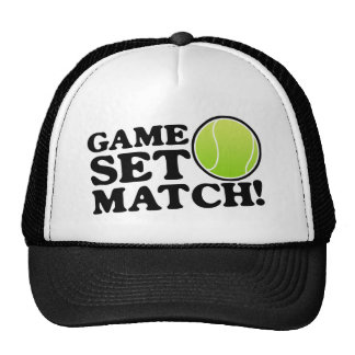 Game, Set, Match Cap