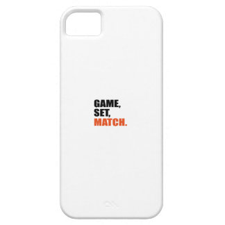 game set match iPhone 5 cover