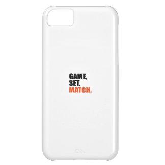 game set, match iPhone 5C case