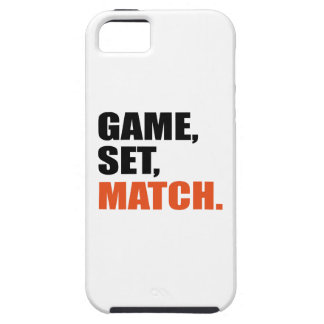 Game set match case for the iPhone 5