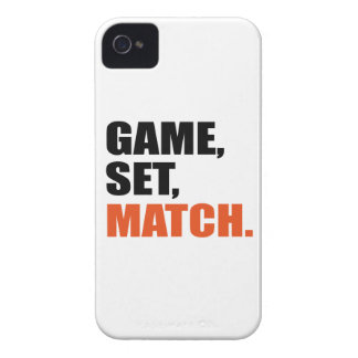 game set, match iPhone 4 covers
