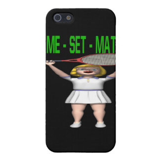 Game Set Match iPhone 5 Case