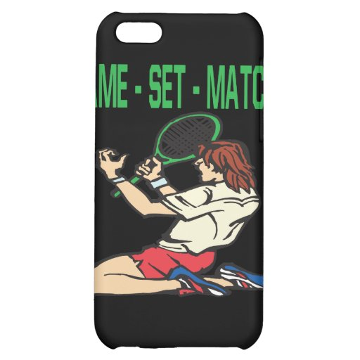 Game Set Match iPhone 5C Cover