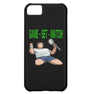 Game Set Match png iPhone 5C Cover