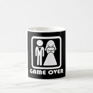 game to over wedding coffee mug