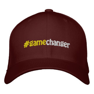 #gamechanger #hashtag Gamechanger Hashtag Embroidered Hat