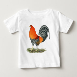 Gamecock Blue Red Rooster Baby T-Shirt