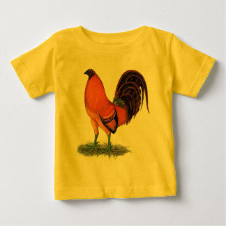 Gamecock Ginger Red Rooster Baby T-Shirt