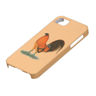 Gamecock Ginger Red Rooster Barely There iPhone 5 Case