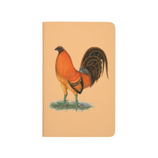 Gamecock Ginger Red Rooster Journal