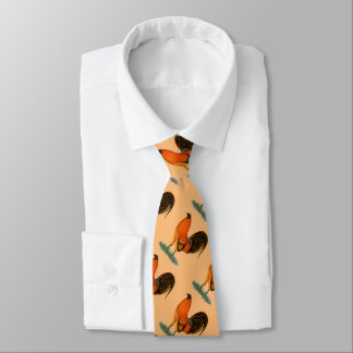 Gamecock Ginger Red Rooster Tie