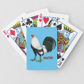 Gamecock Macho Duckwing Poker Deck