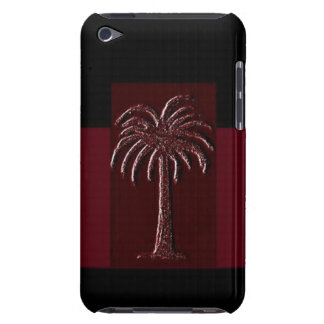 Gamecock Palm-Design 1 Barely There iPod Cases